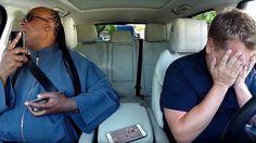 Stevie Wonder's 'Carpool Karaoke' Installment Was So Good, It Actually Made James Corden Cry