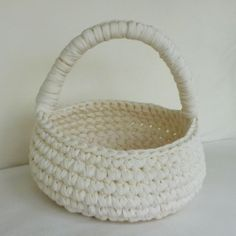 Large+Fabric+Basket+in+Ivory+by+sosorosey+on+Etsy,+$50.00