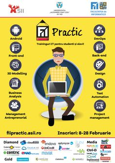 FII Practic 2016 Business Design, Student, Projects, Log Projects, Blue Prints, College Students