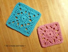 double duty squares ~ free pattern