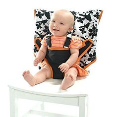 Baby Infant Portable High Chair Harness Cotton Plastic Folding Safety Seat Gift #My