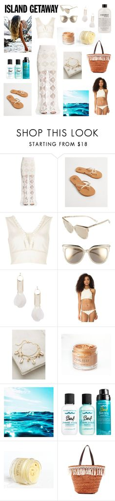 """""""island getaway"""" by flovie ❤ liked on Polyvore featuring Winston White, Reef, River Island, MCM, Miss Selfridge, Marysia Swim, Bumble and bumble, San Diego Hat Co. and philosophy"""
