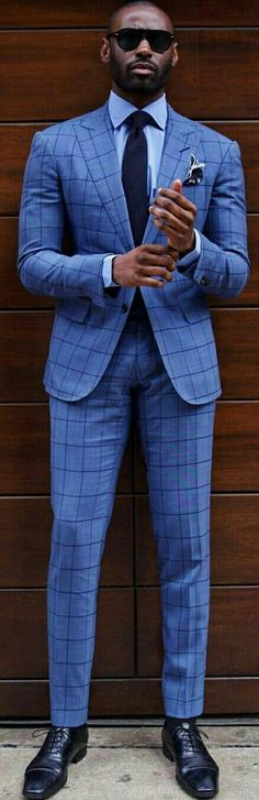 fashion for black men mens fashion for men style clothes menswear fashion clothing street dapper hair hairstyle Look Formal, Men Formal, Sharp Dressed Man, Well Dressed Men, Mens Fashion Suits, Mens Suits, New Fashion, Fashion Outfits, Fashion Clothes