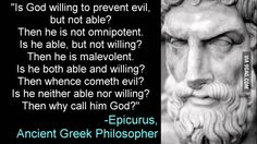 some truth from Epicurus