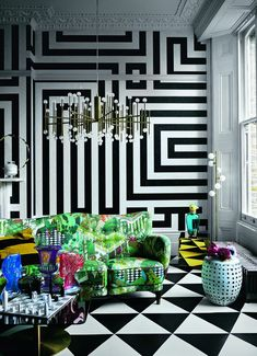Maximalism – The Big Design Trend for Check Out These Maximalist Interiors Home Interior, Luxury Interior, Interior Decorating, Bohemian Interior, Big Design, House Design, Graphic Design, Maximalist Interior, Decoration Inspiration