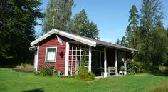 Måsakanten. Ein Westküstenhäuschen am sjön Åsnen, Urshult, Tingsryd Kommun, Smaland, Schweden