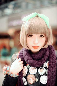 Kyary Pamyu Pamyu - Japanese fashion icon Singer Fashion, Tokyo Fashion, Asian Fashion, World Of Fashion, Japanese Models, Gyaru, Glitch, Alternative Fashion, Kyary Pamyu Pamyu