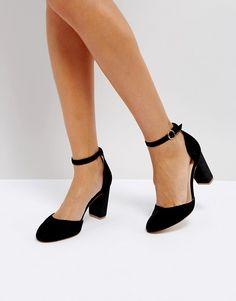 94e73116d05f Coco Wren Block Heel Shoe at asos.com