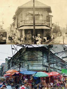 Dito, Noon: Divisoria, Manila, x Ilaya corner Juan Luna Streets in Divisoria has been the center of commercial activity for decades. Manila Philippines, Present Day, Pinoy, Roads, 1920s, Beautiful Places, Commercial, Corner, Wallpapers