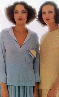 Vogue Italia, 1975, by David Bailey