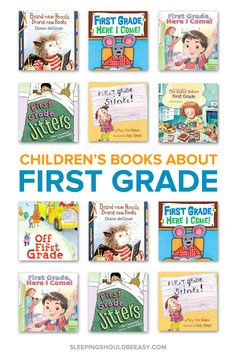Top Children's Books to Get Ready for First Grade
