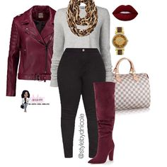 sassy just be fashionable in 2019 осенний стиль, Curvy Girl Fashion, I Love Fashion, Plus Size Fashion, Fashion Looks, Fall Winter Outfits, Autumn Winter Fashion, Classy Outfits, Stylish Outfits, Mode Outfits