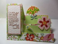 "Mary's ""Paper Blessings"" papercrafting and card classes."