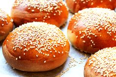 """Brioche buns are so """"on trend"""" and burger restaurants up and down the country now serve them as standard. One"""