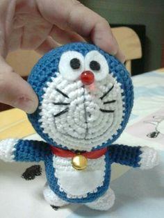 Twitter / AconCarmen: Mi #amigurumi #Doraemon con ...