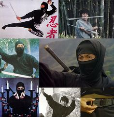 ninja collage - Sho Kosugi