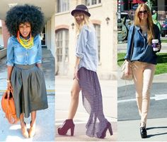 #moda #tendencias #style #fashion #denim #basics