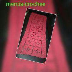 Tapete de croche vermelho lindo ☺☺
