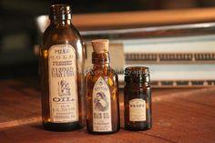 Garrafas de farmácia (etiquetas Vintage) (foto 2)