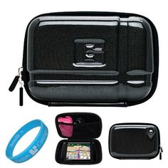 Candy Black Durable 5.2-inch Protective GPS Carrying Case with Removable Carbineer for Garmin nuvi 1300 / 1370T / 1490T / 1350LMT / 1450LMT / 1390LMT / 1390T / 1350T / 1390LMT / 1490LMT / 1450T / 3760T / 3760LMT / 3790T / 3790LMT / 2360LMT / 2370LT / 2350 / 2460LT / 2460LMT / 2450 / 2450LM / 1350LMT / 2300 / 3450 / 2455LT Portable GPS Navigator + SumacLife TM Wisdom Courage Wristband by Va.... $11.99. Safely carry and protect your GPS with our new and improved VG 5.2 inch...