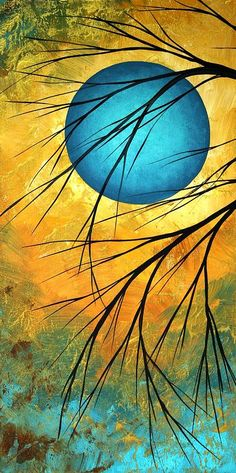 """Passing Beauty"" - acrylic by ©Megan Duncanson (via FineArtAmerica)"