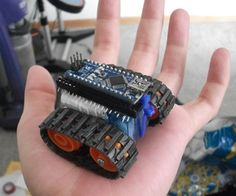 This instructable was created to be entered in the Robot Challenge. If I win, the parts will of course, go into robots like this one. Notes on how to ...