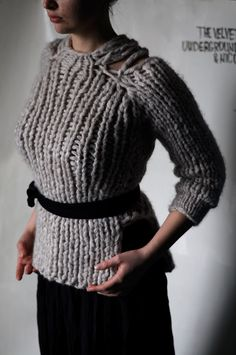 knitting style  check out our fat, Finnish & fabulous yarns! www.thickandfinn.com