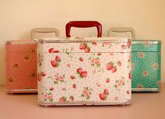 Cute sewing or cosmetics cases