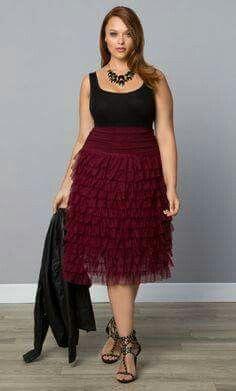 Tiered Delight Tulle Skirt, Maroon Maven (Women's Plus Size) Tiered Skirts, Tulle Skirts, Plus Size Skirts, Plus Size Outfits, Skirt Outfits, Dress Skirt, Midi Skirt, Curvy Fashion, Plus Size Fashion