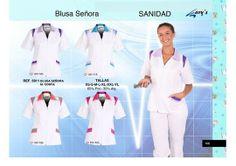 Blusa de diseño sanitaria