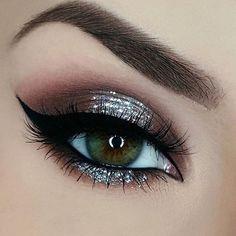 sexy eyemakeup look