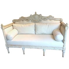 19th.Century Swedish Gustavian Sofa | From a unique collection of antique and modern sofas at https://www.1stdibs.com/furniture/seating/sofas/