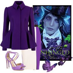 """Unhinged by A.G Howard"" by beautifulnoice on Polyvore"