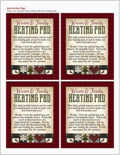 Rice Heating Bags, Diy Heating Pad, Heating Pads, Christmas Gifts To Make, Christmas Gift Tags, Xmas, Reusable Things, Heat Bag, Crochet Hot Pads