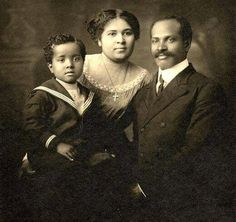 Caroline Webb family circa 1910 Madison, Wisconsin