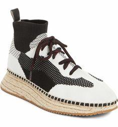 Main Image - Alexander Wang Dakota Espadrille Sock Sneaker (Women)