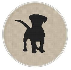 Puppy cross stitch pattern Dog counted cross от MagicCrossStitch