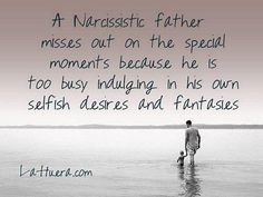 Were you raised by a narcissistic father? I was. The negative effects lasted with me for years and it took a lot of healing to realise that it wasn't my fault, that I was loveable as the person I was and the heal my wounded inner child. How did your relationship with your father affect you? #thesilentsufferer #evolvingyou