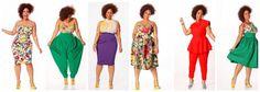 Plus Size Fashion Heads To The Tropics With JIBRI's Spring 2013 ...