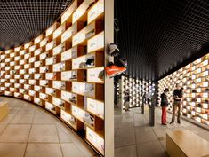I feel like sneaker heads would go crazy at the sight of this place (Sneakerology by Facet studio)