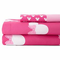 Disney® Minnie Mouse Sheet Set - jcpenney