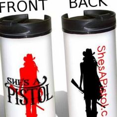 Also coming soon at She's A Pistol! Aluminium thermal tumblers!  Pre-order now to get yours first!  Available in store or at www.ShesAPistol.com! #BeAPistol  Shipping starts just after Thanksgiving 2014.