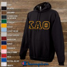 Kappa Alpha Theta Sorority Champion Hooded Sweatshirt $43.95