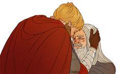 I am legit crying Merlin And Arthur, Otp, Disney Characters, Fictional Characters, Aurora Sleeping Beauty, Fandoms, Princess Zelda, Fan Art, Crying
