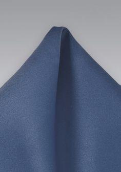 Modisches Kavaliertuch unifarben königsblau