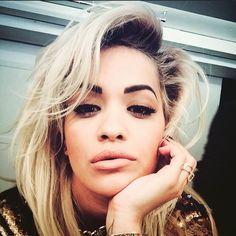 Rita Ora quiff