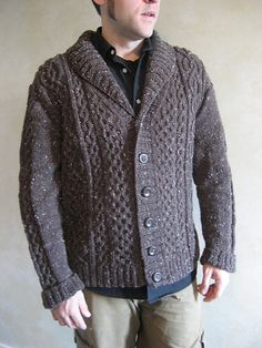 Check out the women's version of this cardigan, the Blackberry Cardigan