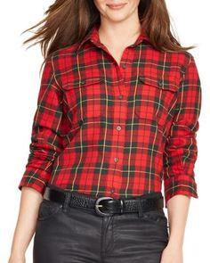 Lauren Ralph Lauren Plaid Shirt | Bloomingdale's
