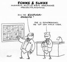Fokke & Sukke, cultuuromslag