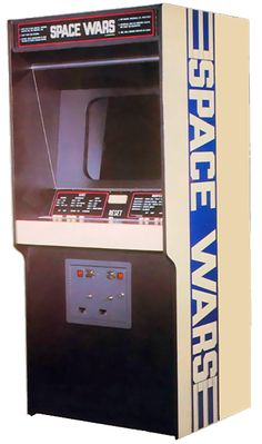 Image of the cabinet for Space Wars, an arcade video game by Cinematronics 1977 Vintage Video Games, Classic Video Games, Retro Video Games, Consoles, Retro Arcade Machine, Arcade Console, Retro Arcade Games, Nintendo Sega, Videos